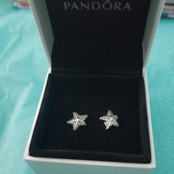 06ed35384 Pandora Jewelry | Tropical Starfish Earrings | Poshmark